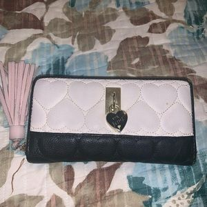 Betsey Johnson accordion wallet